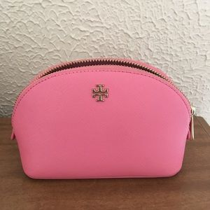 Tory Burch small makeup zip pouch